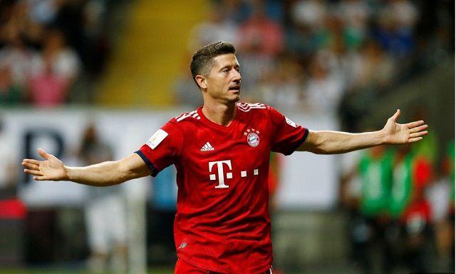 Lewandowski là cầu thủ ghi bàn của Bayern Munich trong ngày lễ đăng quang